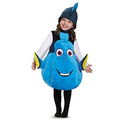 Disguise Dory Toddler Deluxe Finding Dory DisneyPixar Costume One - halloween costume ideas 2016 kids