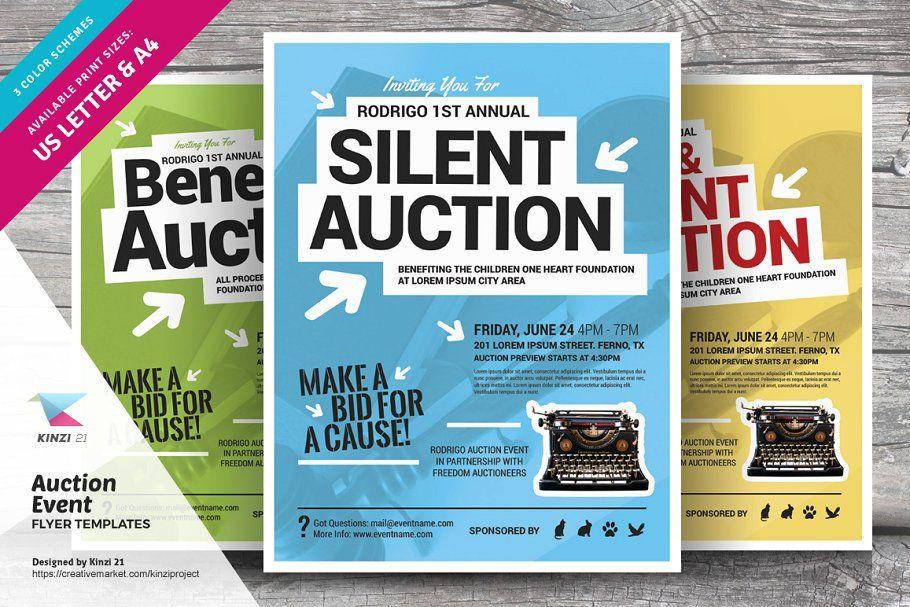 Auction Event Flyer Templates Event Flyer Templates Event Flyer Flyer Template