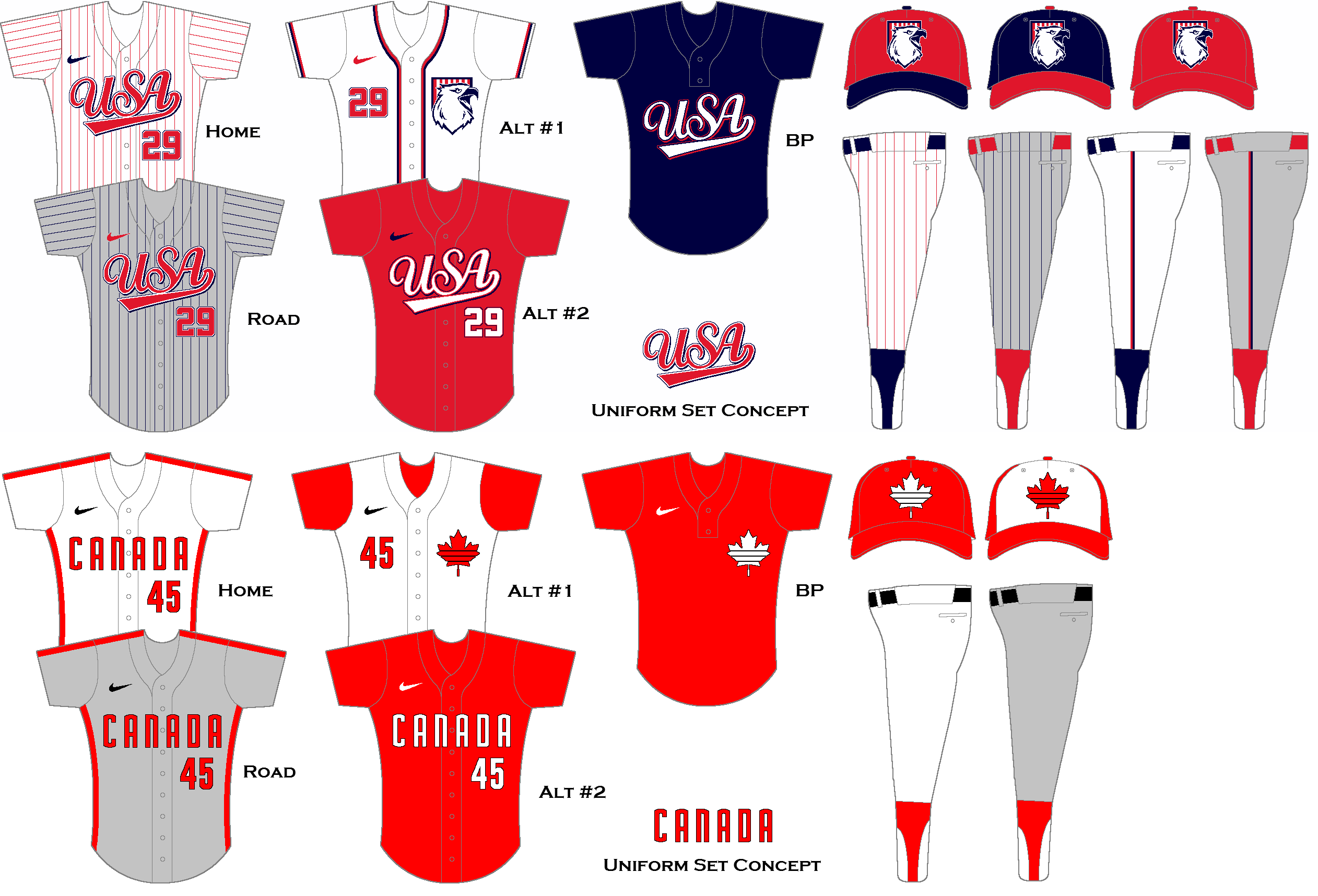 International Baseball Concepts