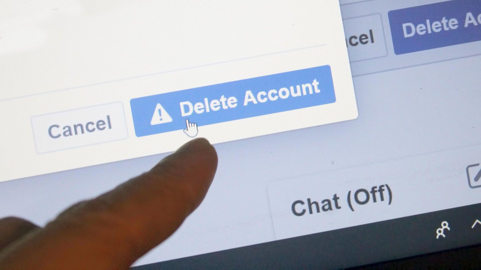 Wie Sie vergessene Accounts finden und löschen Passwort
