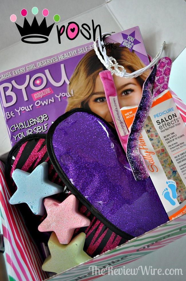 Posh Pak Monthly Subscription Box for Girls {August 2014