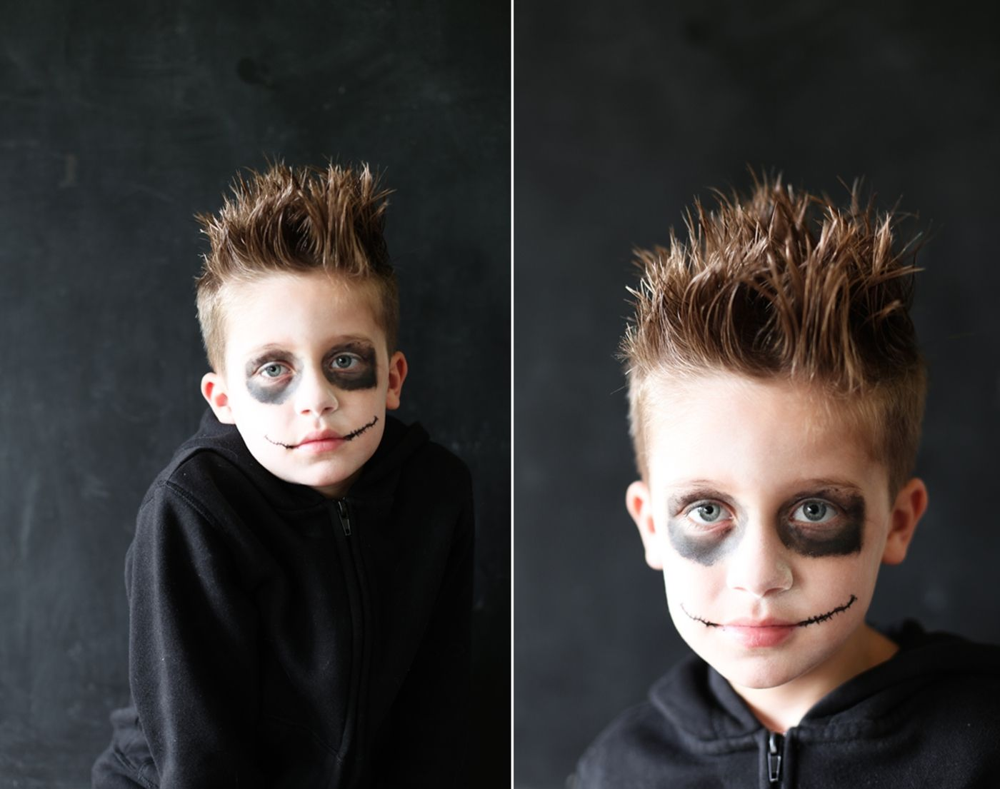 Halloween Frisuren Fur Kinder Idee Fur Jungs Fur Zombie Vampir Oder Werwolfkostum Halloween Kostume Kinder Halloween Frisuren Halloween