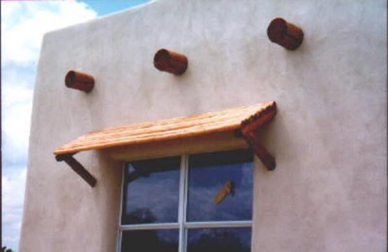 Awnings Southwest Wood Pole Santa Fe Homes Patios Window CanopyTimber