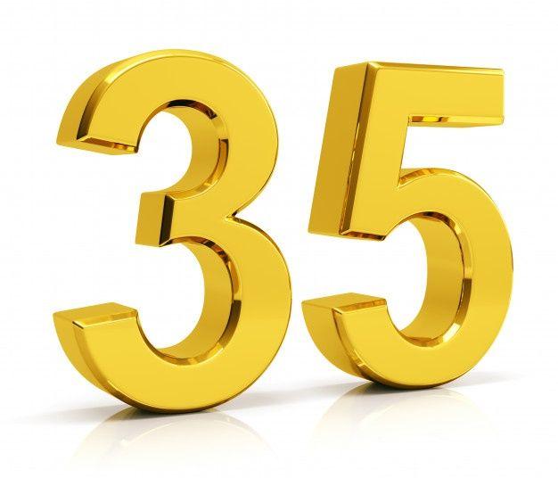 Number 35 In 2020 Numbers 35th Freepik