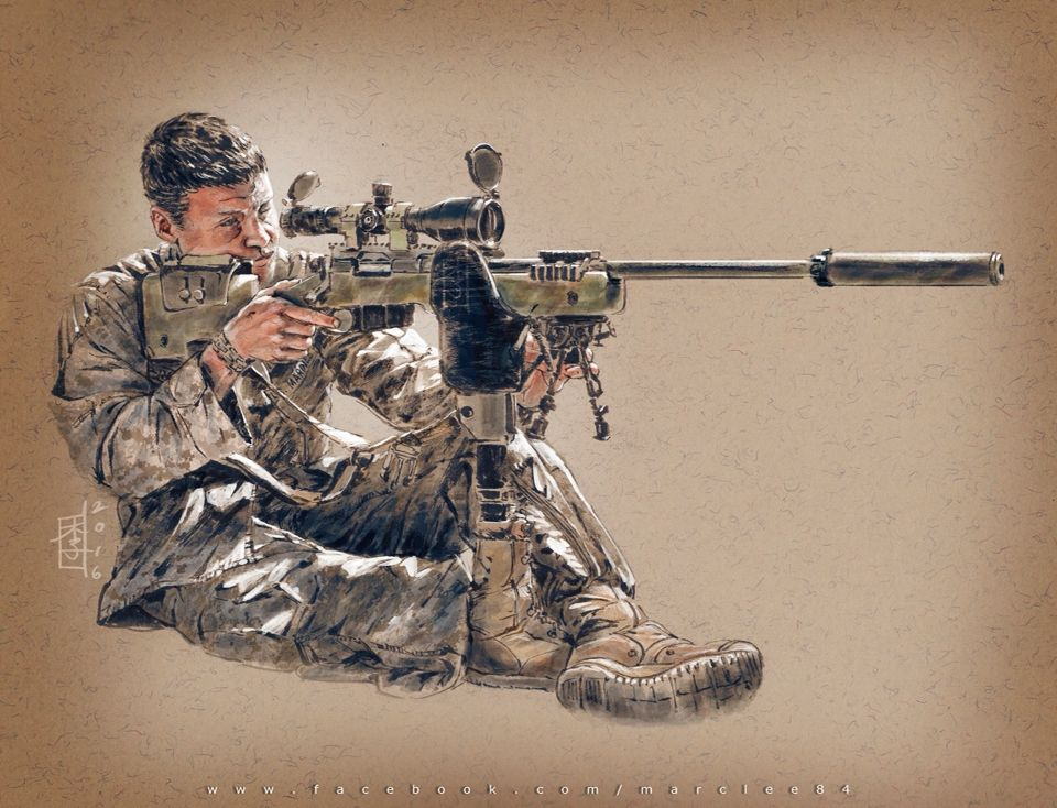 Sgt Jason Pacheco, 23, scout sniper instructor, Division Schools