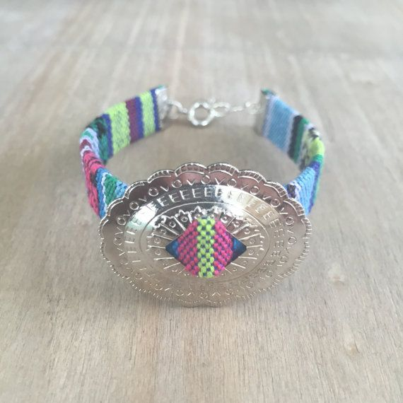Indio Oval Concho Bracelet