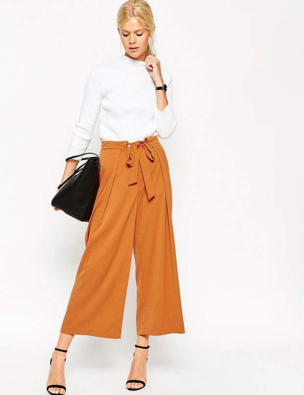 f21edce6e2 Façon jupe culotte Pantalon jupe-culotte