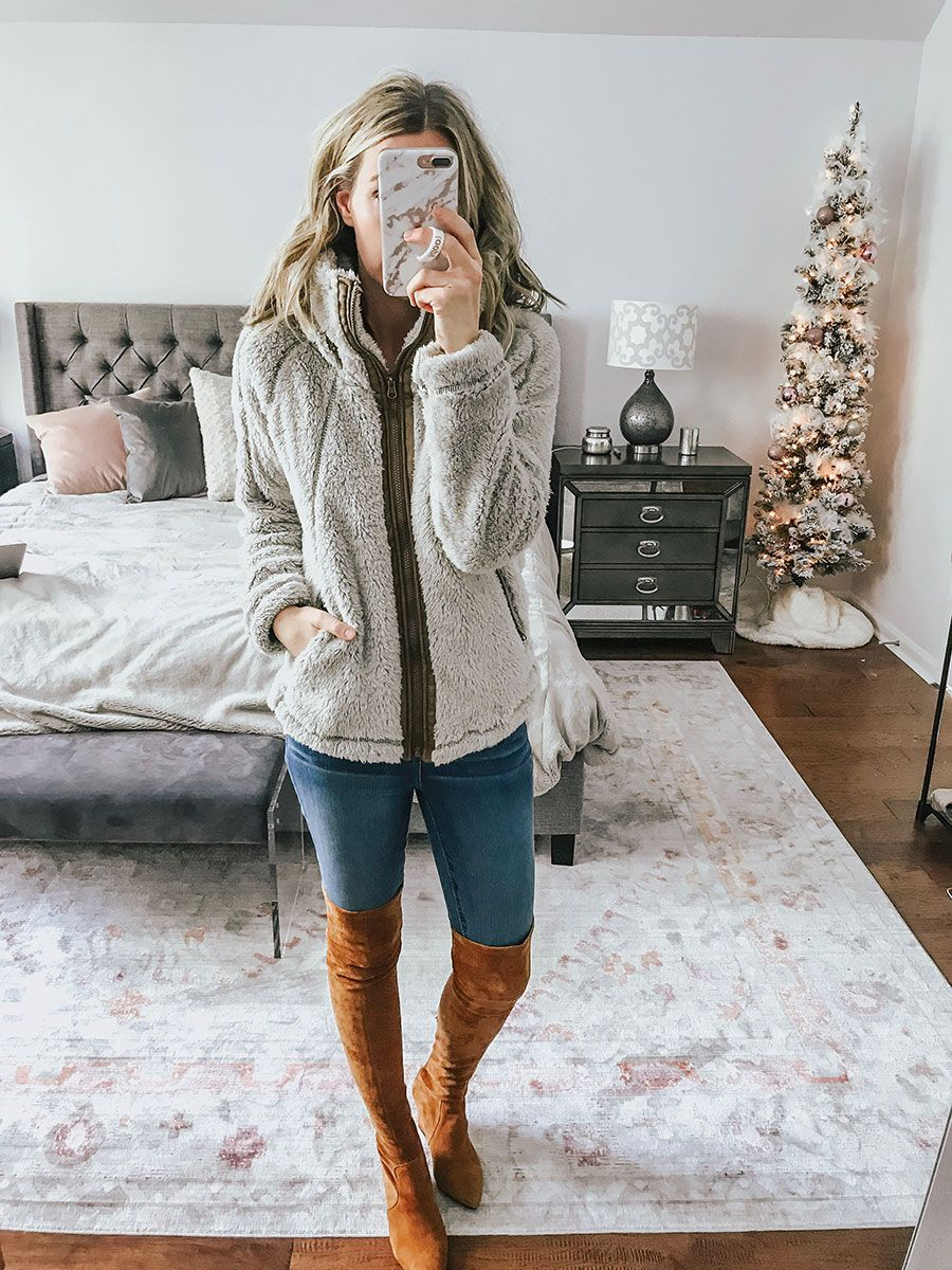 8eb9c2f7b43 Sharing a huge Walmart try on haul in today s blog post! SO many great  things at affordable prices. Lots of cozy winter pieces!