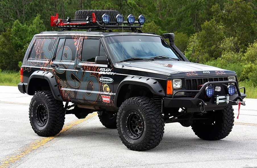 1996 Jeep Cherokee Xj Wrap A1a Sign Wave Jeep