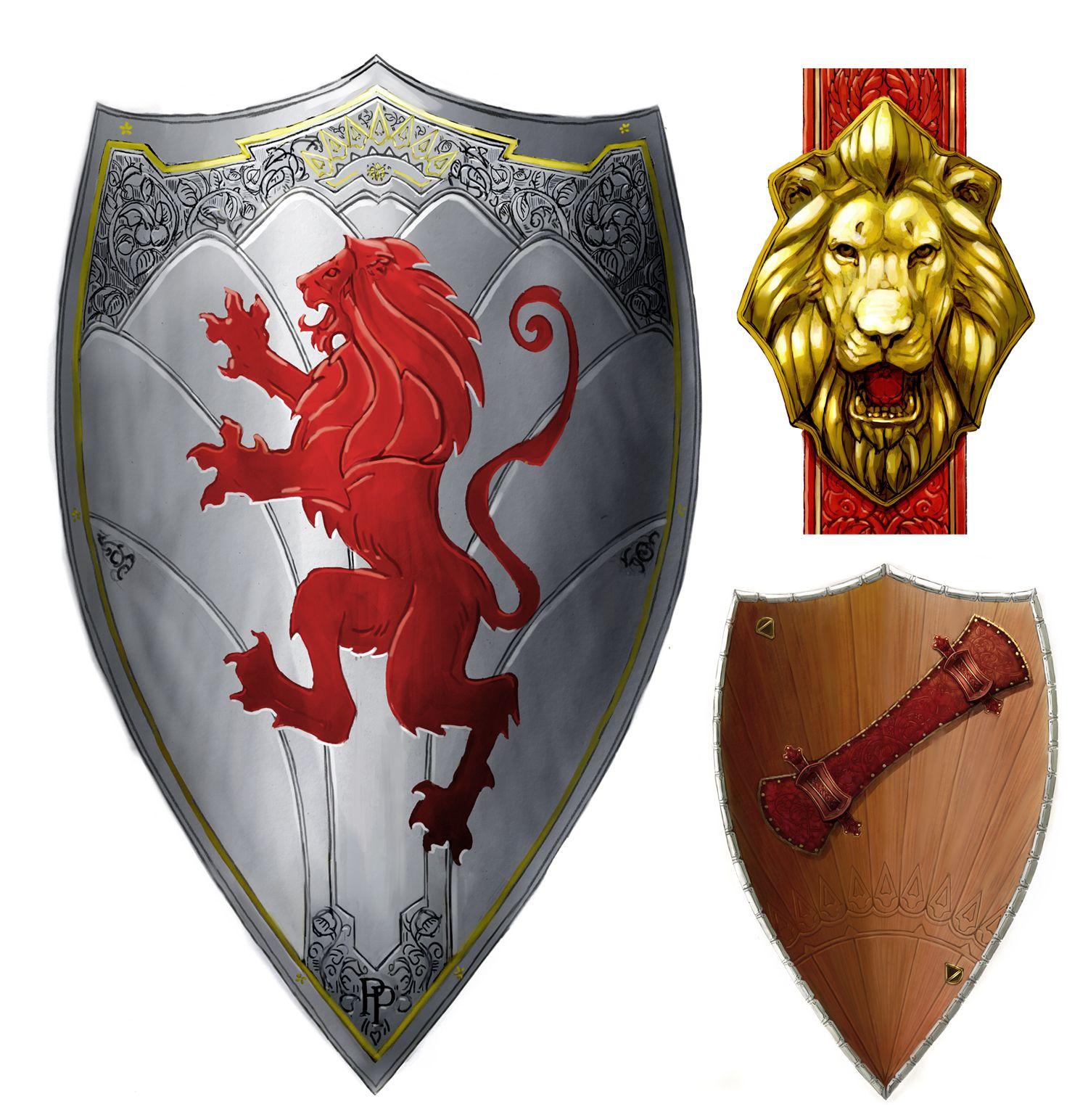 варианты русские щиты с гербами картинки были примитивные, тяжелые