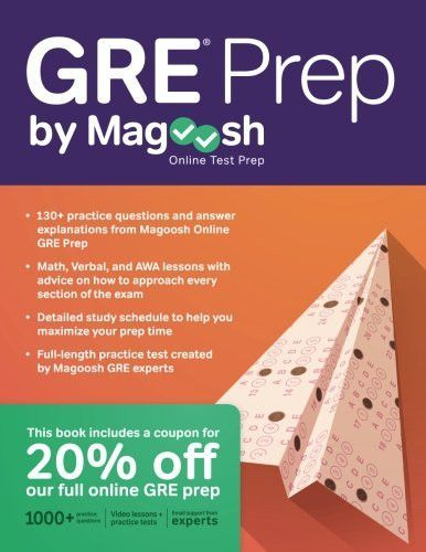 Gre Study Book >> Gre Prep By Magoosh Products Gre Prep Best Gre Prep Prep Book