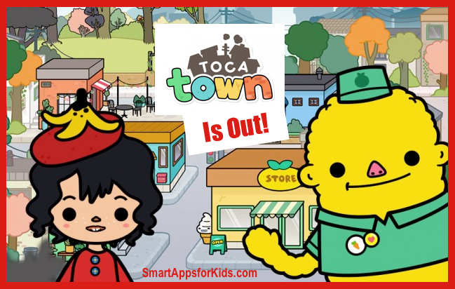 Hear ye, hear ye! Toca Town is the newest member of the