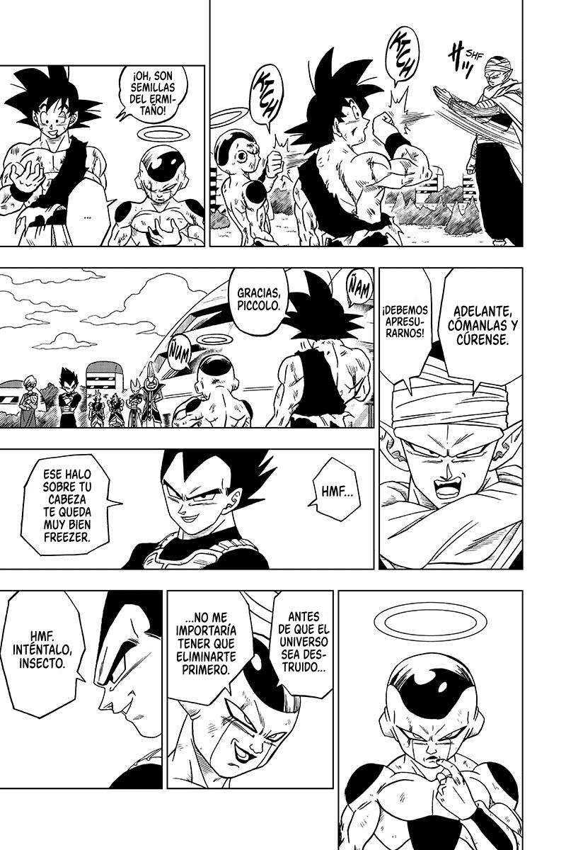 Pagina 39 Manga 32 Dragon Ball Super Dragon Ball Super Manga