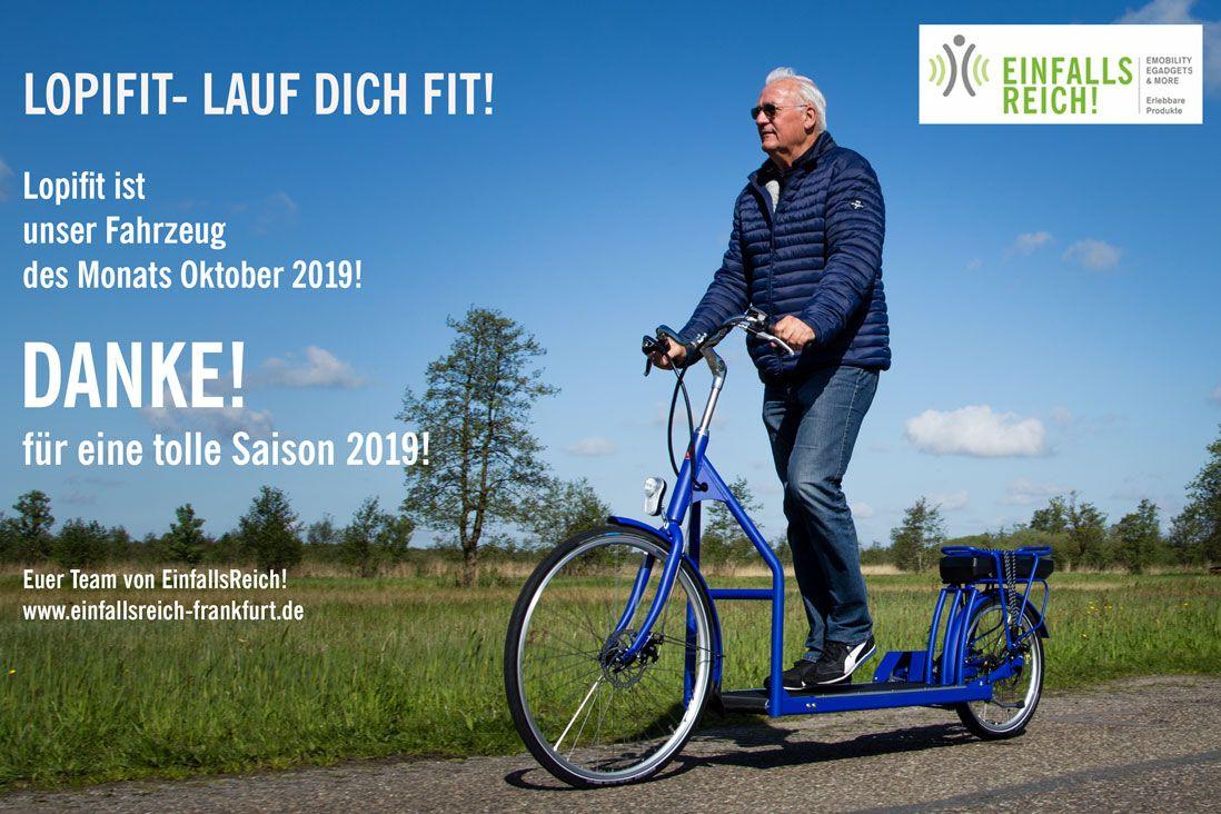 Lopifit Ist Unser Letztes Fahrzeug Des Monats In 2019 Lauf Durch
