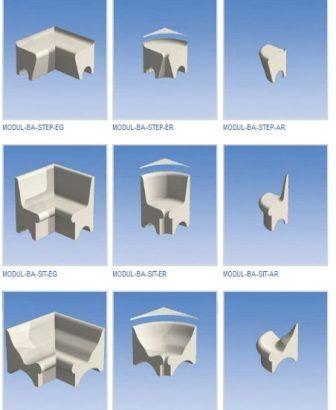 Elegant Sitzbank f rs Badezimmer oder Klappsitz f r barrierefreie Duschen Es gibt immer mehrere M glichkeiten f r eine Bank im Bad