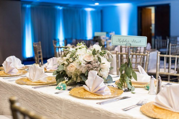 Glam National Press Club Affair Table Numbers Dc Weddings And Gold