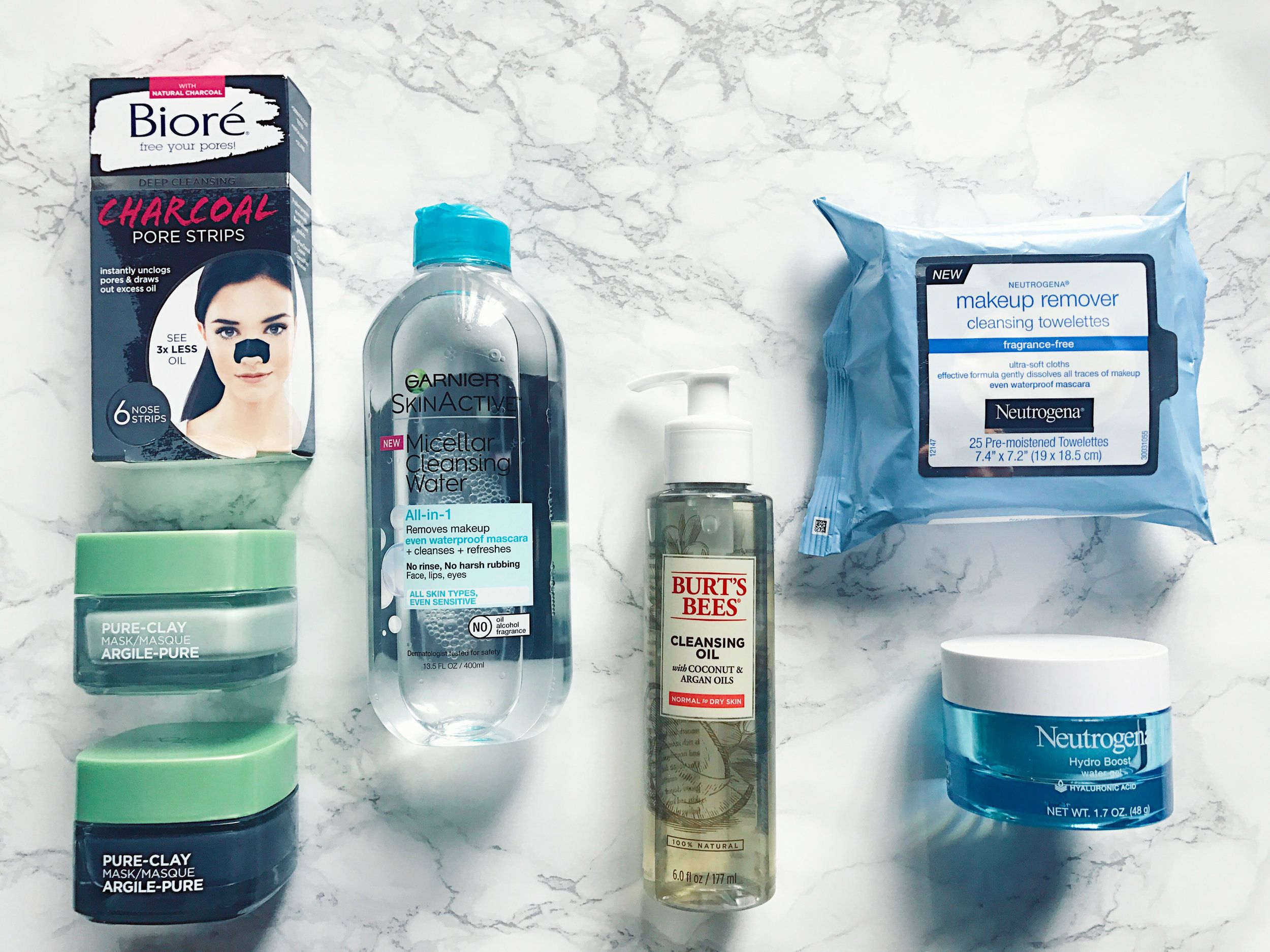 Drugstore Favorites Makeup remover cleansing towelettes