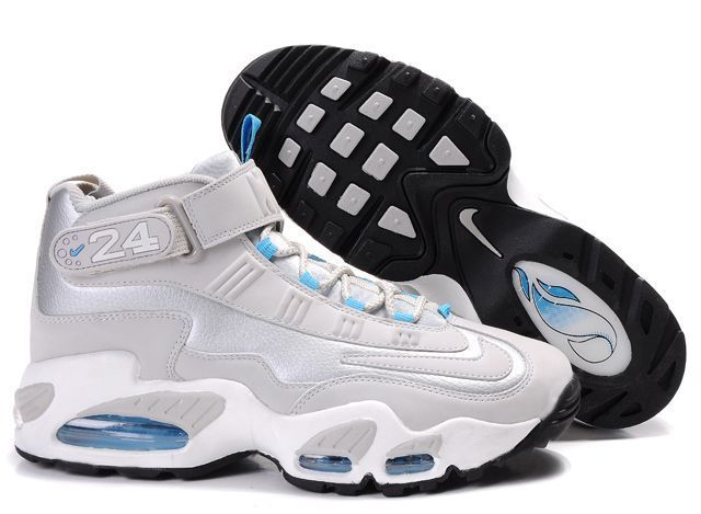 Discount Nike Ken Griffen Max Mens Shoes 2014 Grey Blue For Sale Save up Off great site for all nike shoes off omg