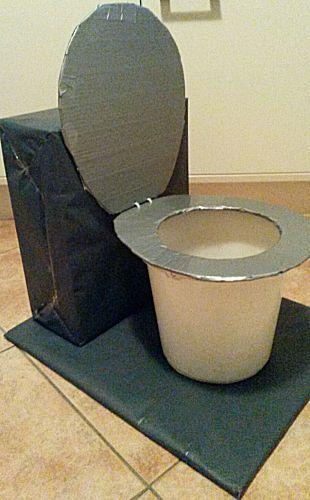 Sinterklaas surprise met de titel Toiletpot Kerstmis