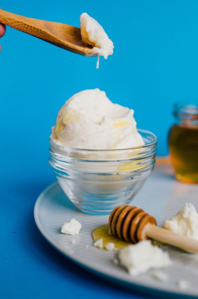 Feta Frozen Yogurt