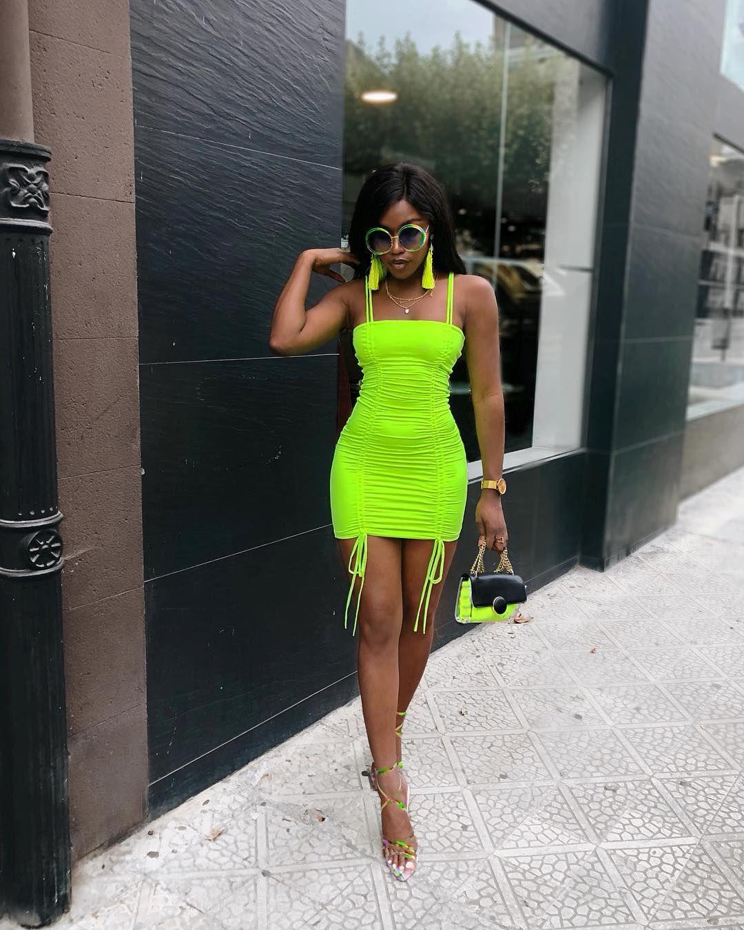 31++ Neon green dress information