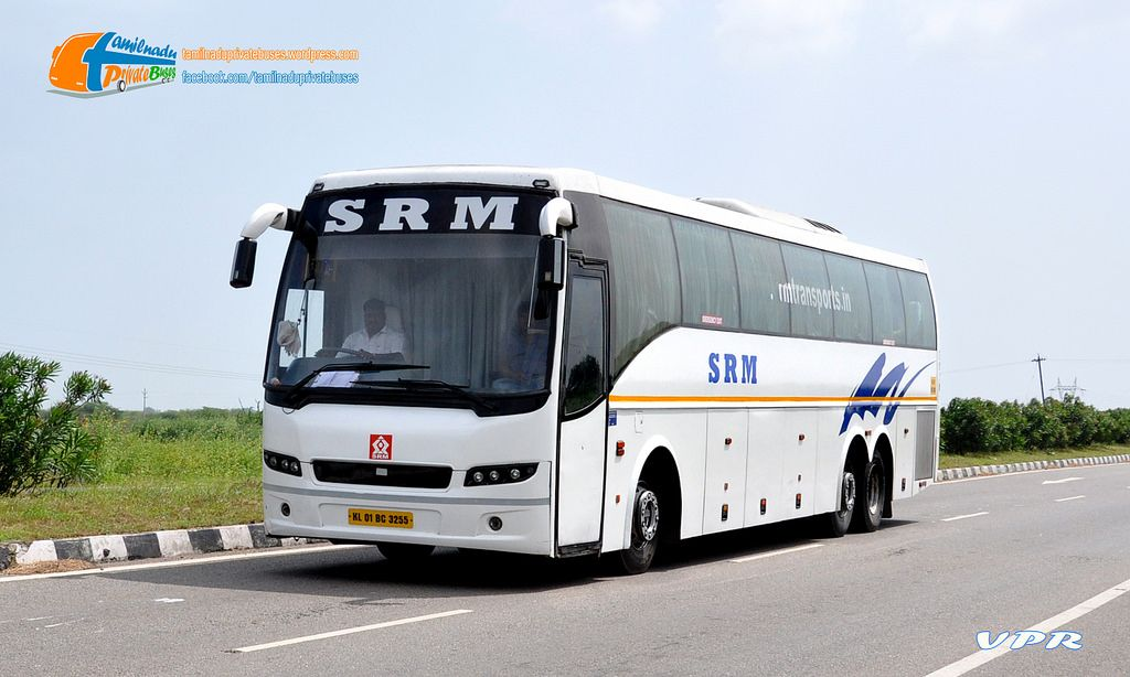 SRM travels provides you the Luxury AC buses, Volvo Ac Buses for the