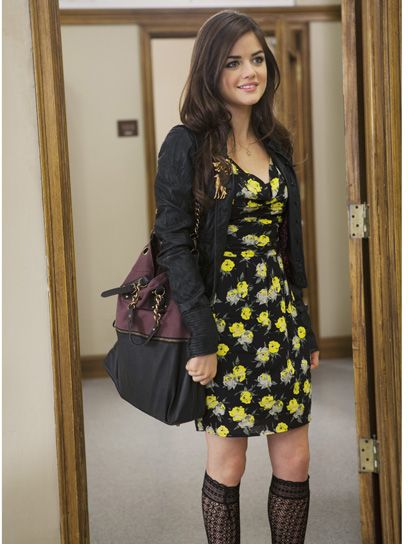 Pretty Little Liars Character Style Guide....awesome show to seek outfit inspiration from