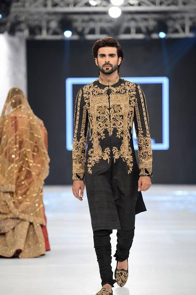 Latest pakistani designer men wedding dresses 2017 style for Pakistani designer wedding dresses 2017