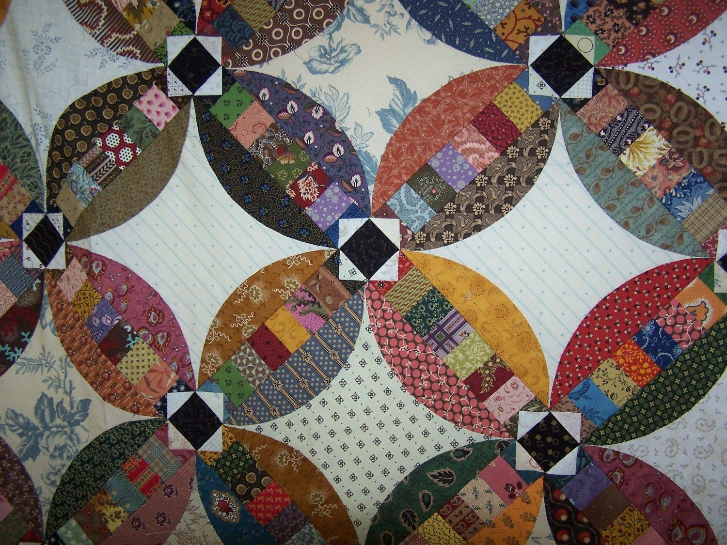 Faux Wedding Ring quilt pattern Wedding ring quilt