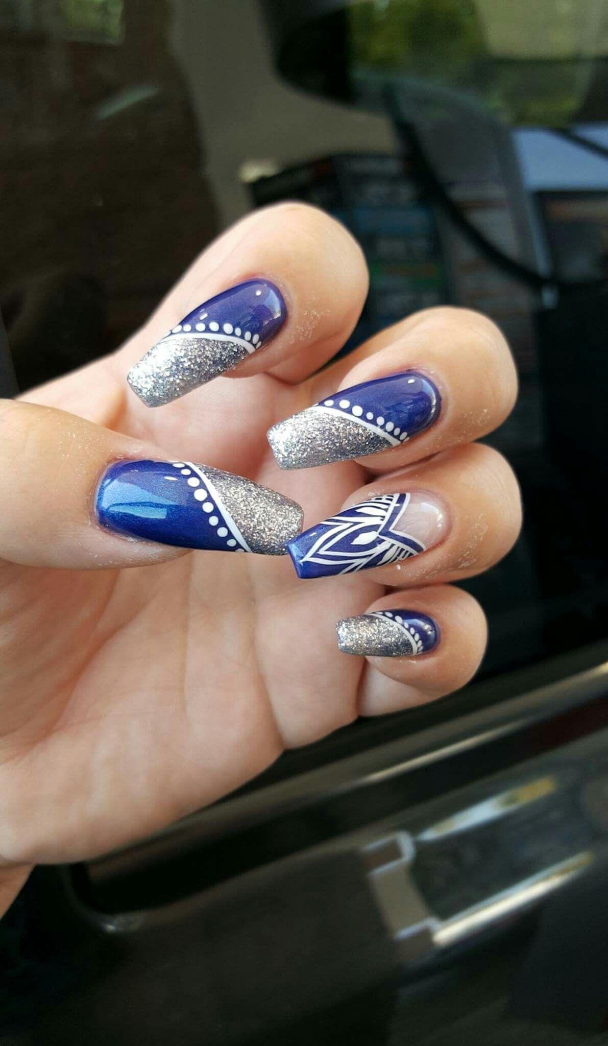 Dallas Cowboys colors | nails | Pinterest | Dallas, Cowboys and ...