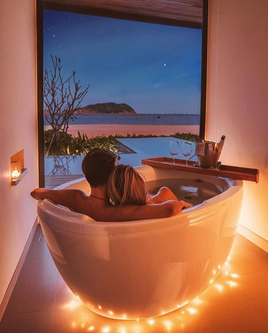 Perfect spot for a late night tub @paigunna... | Romantic ...