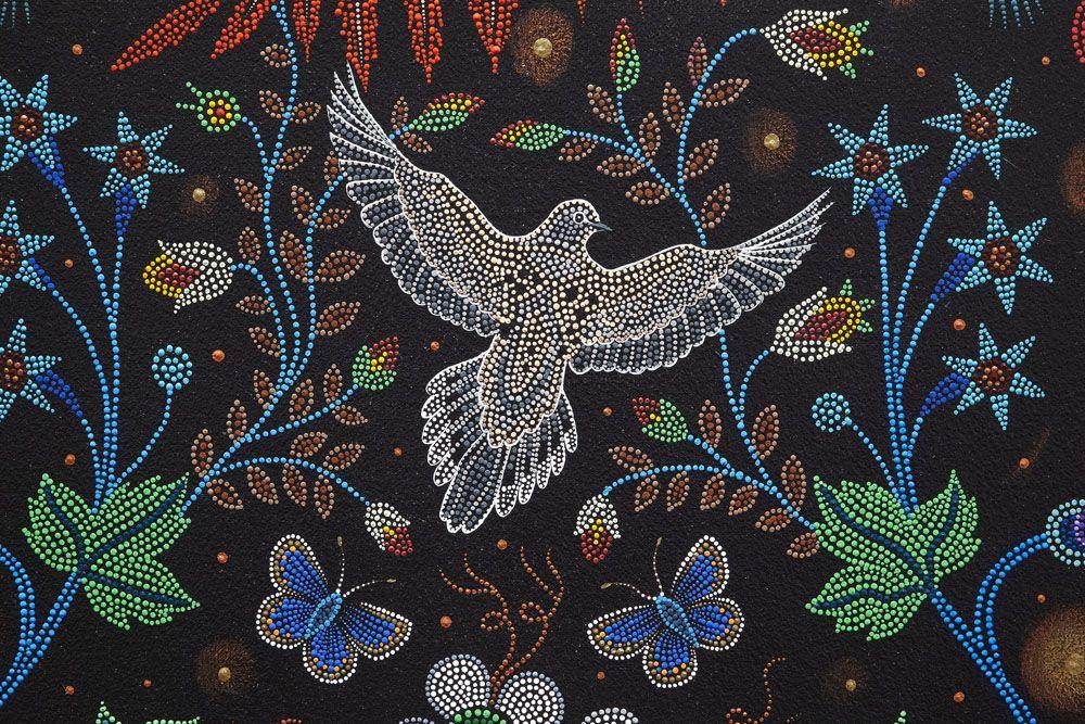 Ago 116615 D Flat Beadwork Art Bead Art Painting