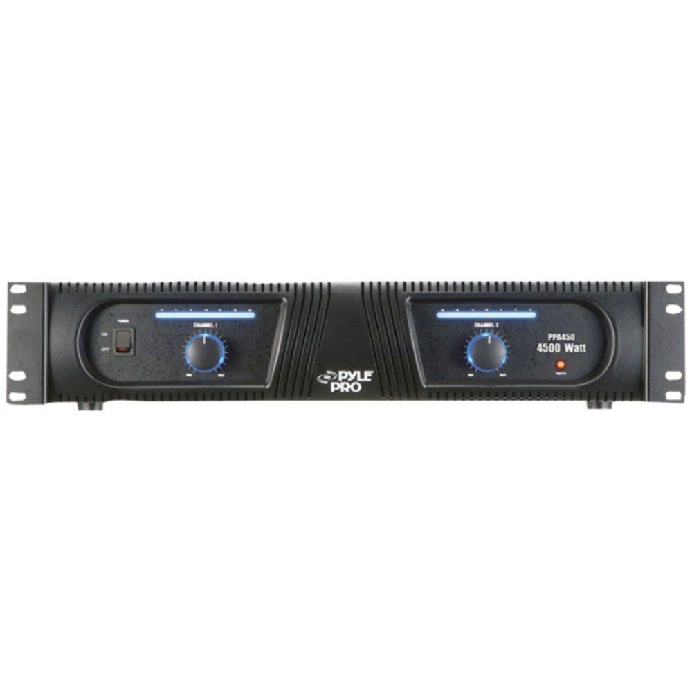 PYLE PRO PPA450 19, 4,500-Watt Rack-Mount Professional DJ Power Amp