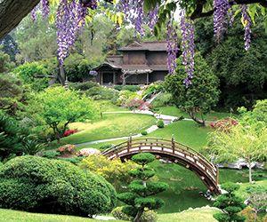 Descanso Gardens Japanese Tea Garden And Minka Los Angeles With