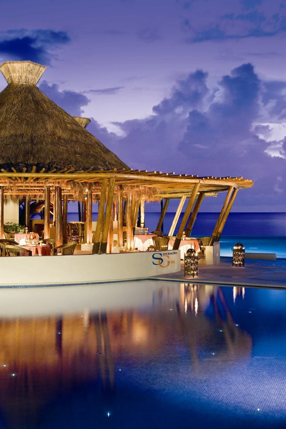 Seaside Grill At The Dreams Riviera Cancun Resort And Spa Dreamsresorts
