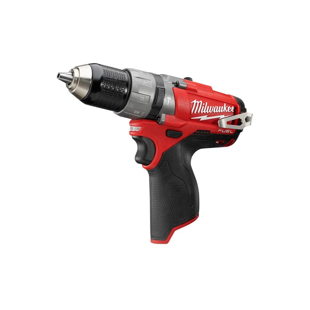 Milwaukee M12 Fuel 12 Volt Lithium Ion Brushless Cordless Hammer Drill And Impact Driver Combo Kit 2 Tool W 2 Batteries Bag 2598 22 Cordless Hammer Drill Drill Hammer Drill