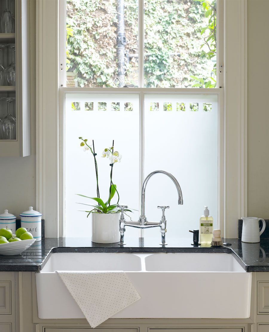6 Stylish Ways To Dress Your Windows | Kitchen sink window ...