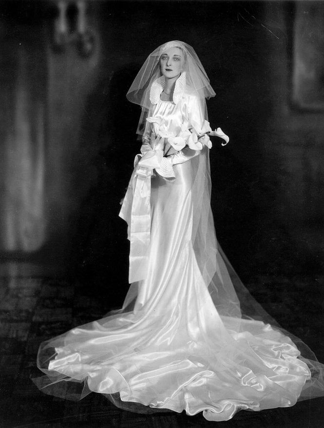 Vintage Wedding Gown Pauline Torvik Married Irving Iaks In 1934
