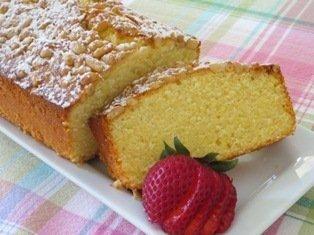 Polenta Pound Cake