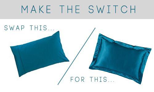 Silk Vs Satin Pillowcase Stunning Beauty Advice Healthy Hair Secrets HAIR Pinterest Healthy