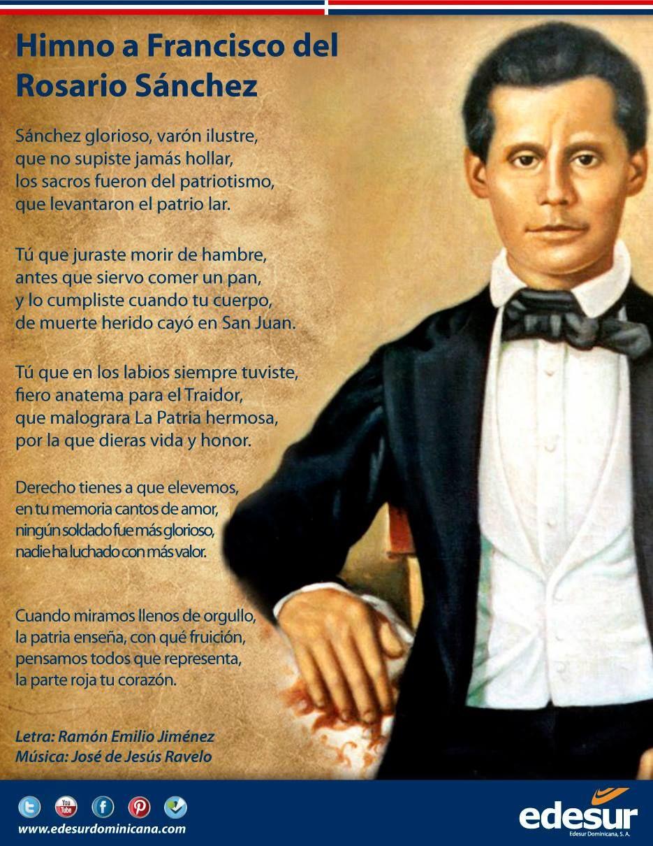 Hoy celebramos el 198 aniversario de nuestro patricio Francisco del Rosario Sánchez.