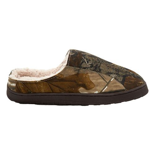 Comfortable camo he'll wear all winter long! Clog Slippers #Gifts