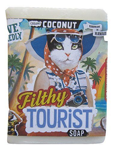 Filthy Farmgirl Filthy Tourist Creamy Coconut BAR SOAP