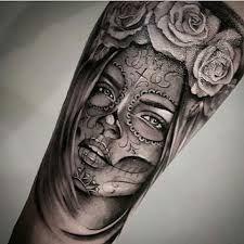 Resultado de imagen para la santa muerte tattoo | Tatuajes ...