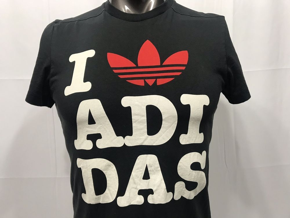 i love adidas t shirt