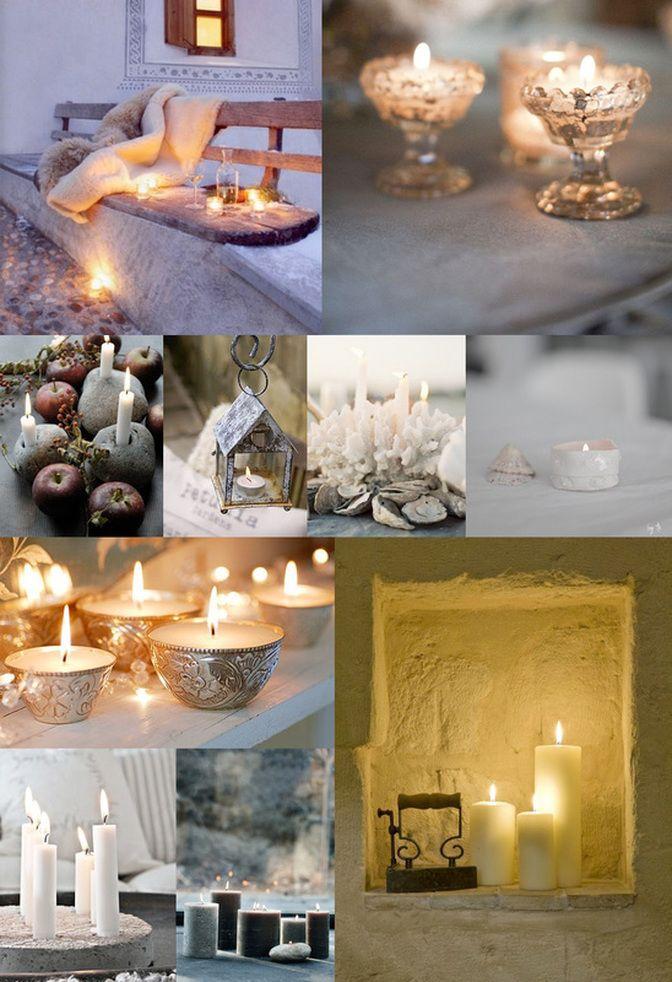 soft candlelight
