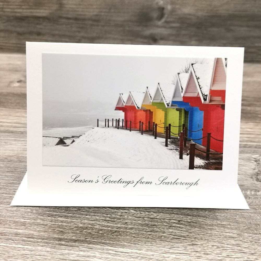 Scarborough Greetings Card   East Coast Designs