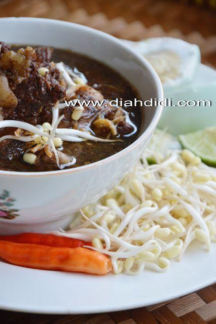 Inspirasi Menu Buka Puasa Hari Ke 21 Rawon Iga Jawa Timur Resep Masakan Masakan Masakan Indonesia