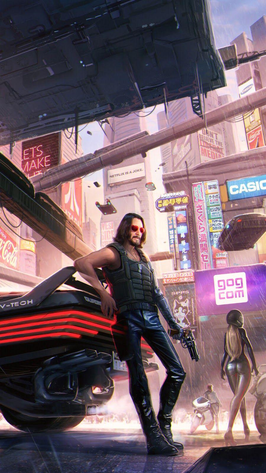 Cyberpunk phone wallpapers   HeroScreen   Cyberpunk 2077 ...