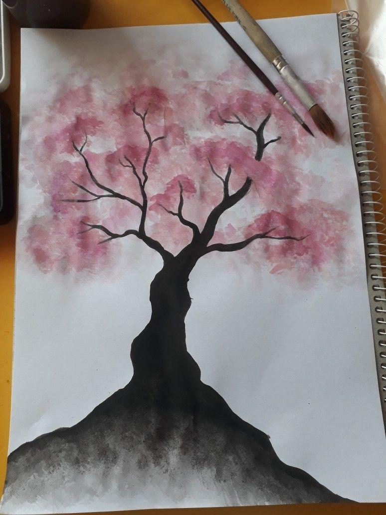 Einfaches Malen Mit Wasserfarben Wasserfarben Bilder